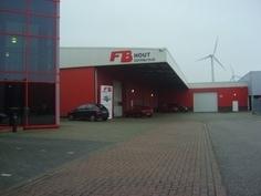 Uitbreiding magazijn FB Hout Nederland - 2008
