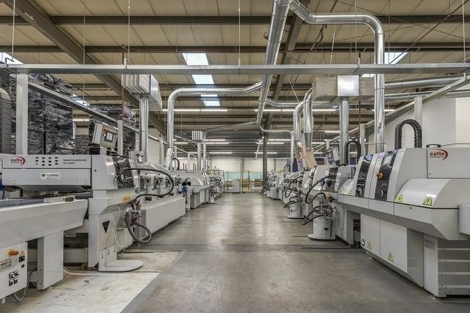Uitbreiding en renovatie productiefaciliteit FB Hout Nederland - 2017